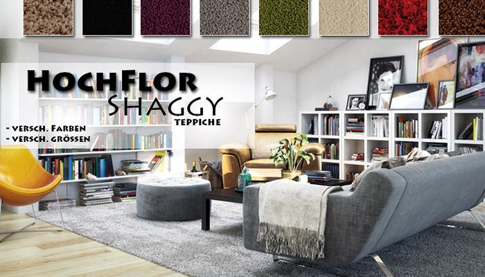 Hochflor Shaggy Teppiche
